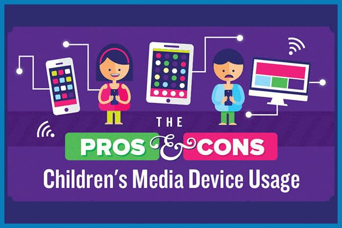 The Pros & Cons of Children's Media Device Usage