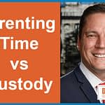 """Parenting time"" vs ""Custody"""