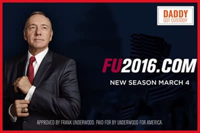 The Main Reason to Vote Early in March Primaries…House of Cards Season 4