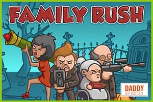 Fred's #3 Online Game Papa Louie Family Rush