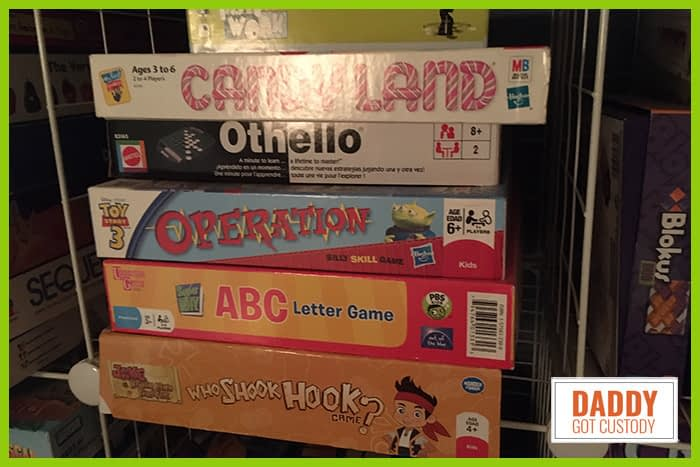 Family Board Games by https://DaddyGotCustody.com