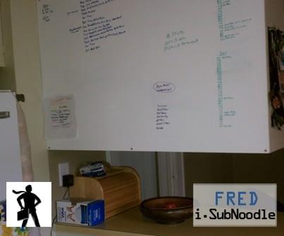 Chris Coleman's Kitchen Board